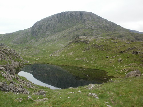 Great Slack Tarn with Great End behind it