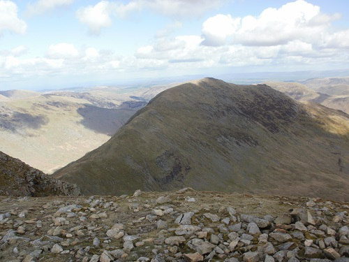 St. Sunday Crag from Fairfield summit