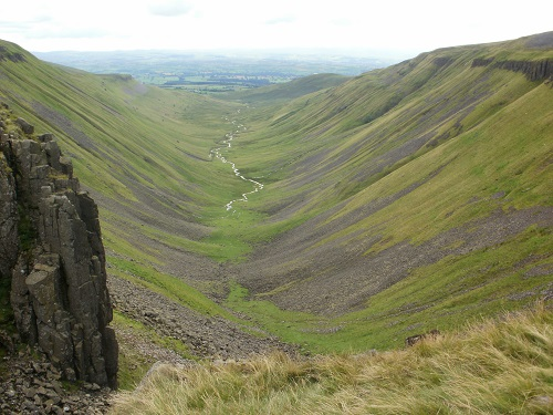 High Cup, one of my favourite views of the Pennine Way walk