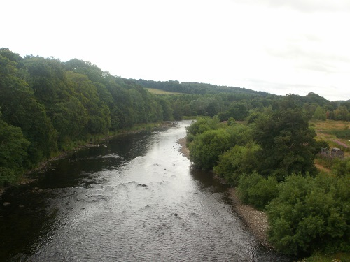 Crossing the River Tweed for the third time today