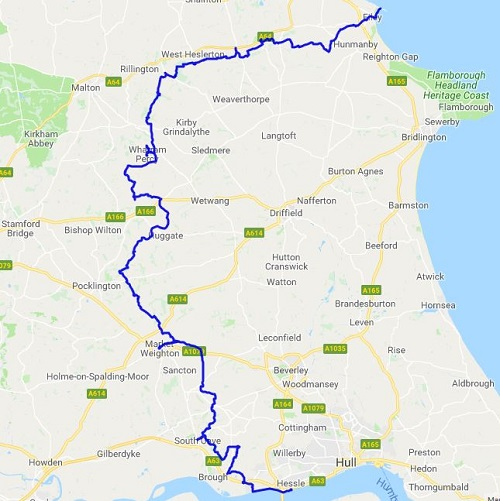 Brians Walks - The Yorkshire Wolds Way National Trail